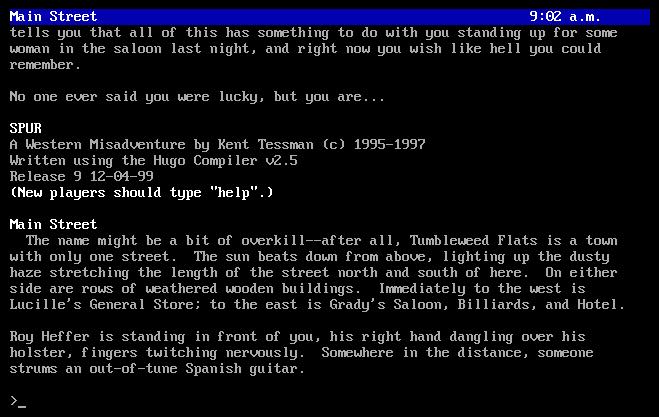 Hugo online interpreter screenshot